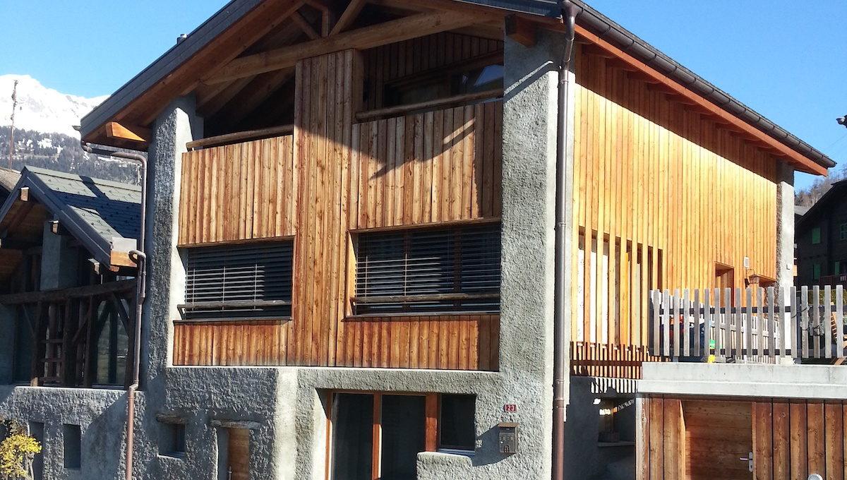 MAISON ICOGNE - descriptif maison Icogne